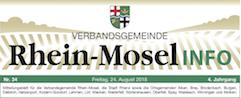 Mitteilungsblatt Rhein-Mosel Info Ausgabe 34