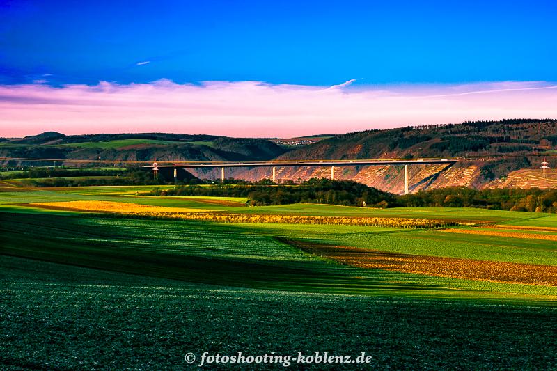 Landschaft oberhalb Bauhof
