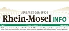 Mitteilungsblatt Rhein-Mosel Info Ausgabe 33